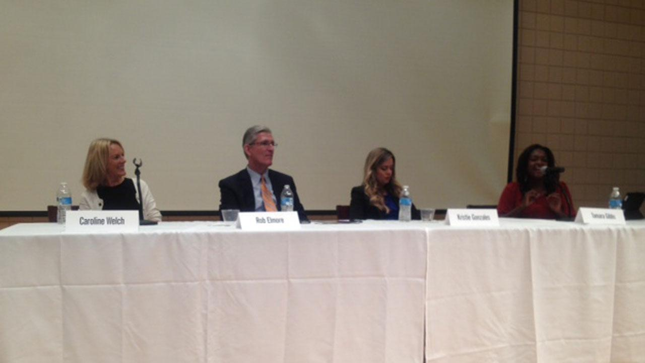 The stations panel at the Minority Advisory Committees annual event.