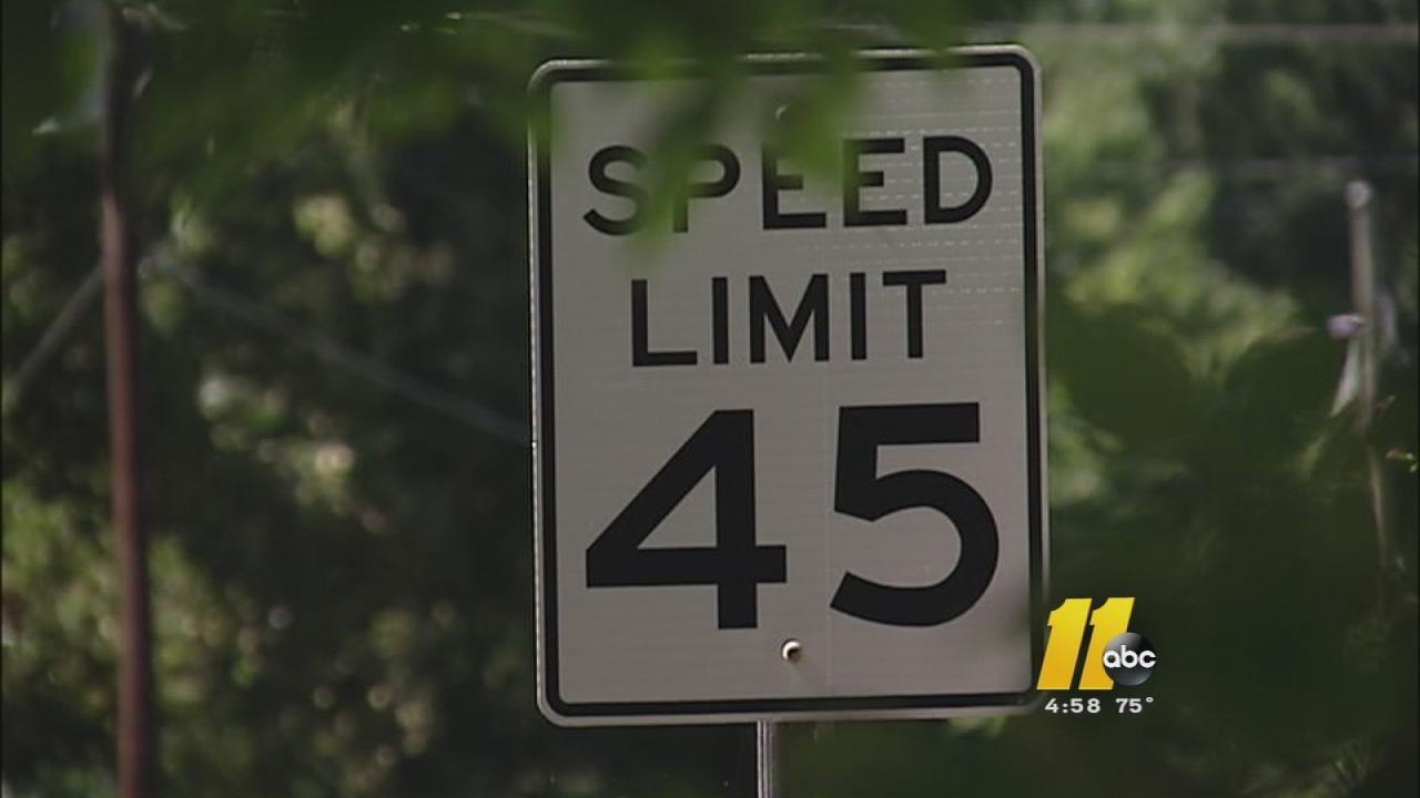 Homeowners fear Lake Wheeler speeders