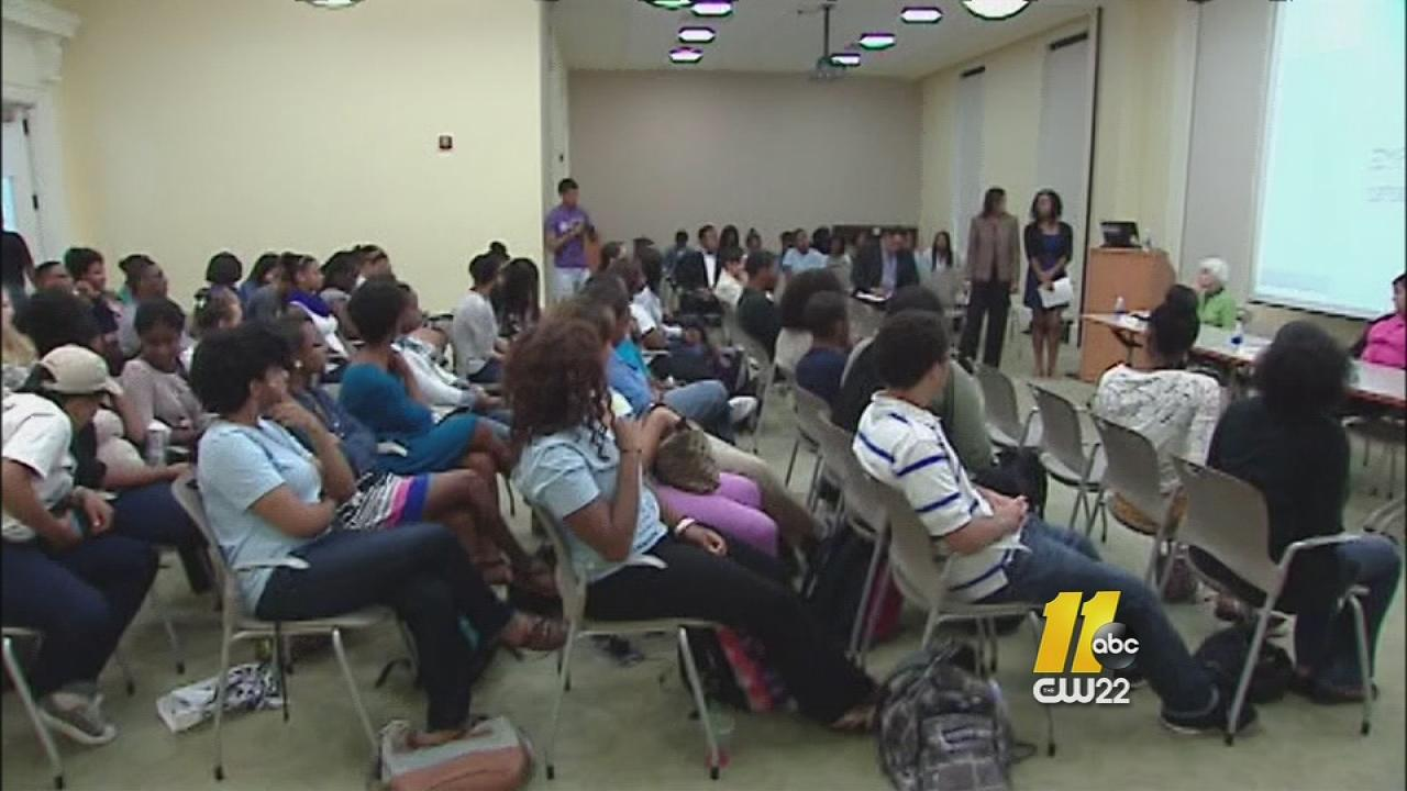 UNC-Chapel Hill students discussed the Trayvon Martin case