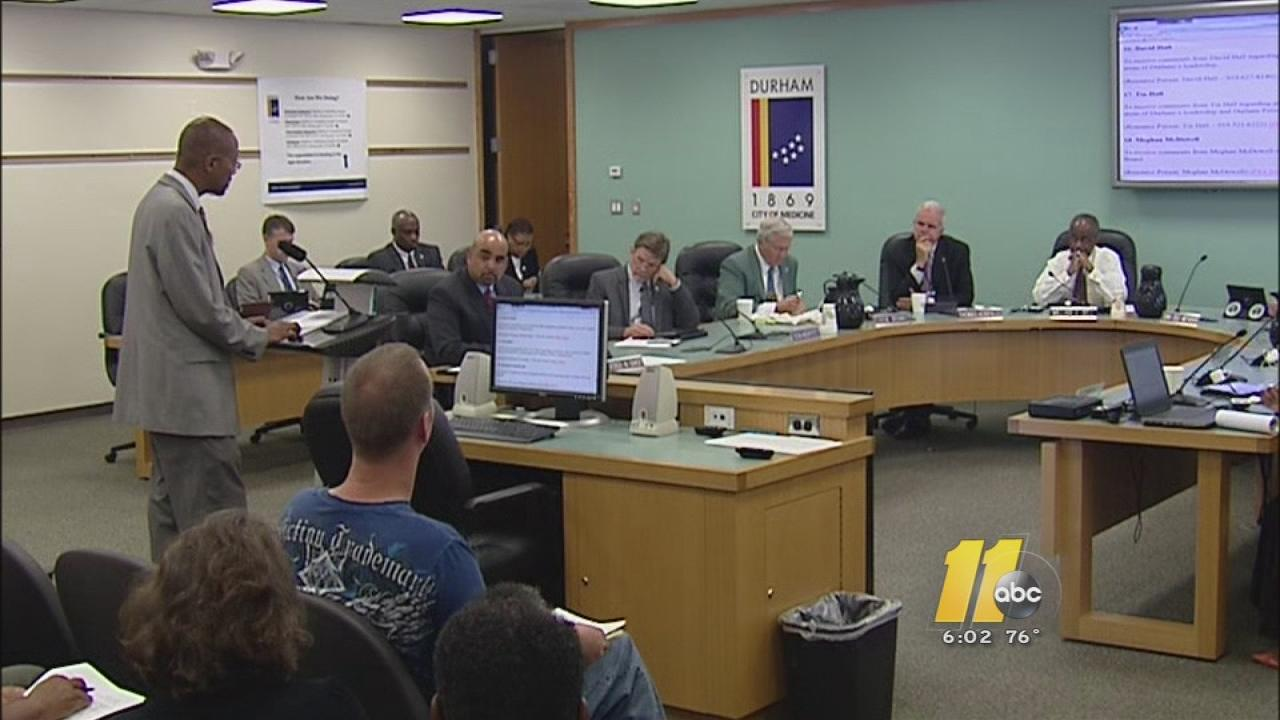 Durham City Council meeting