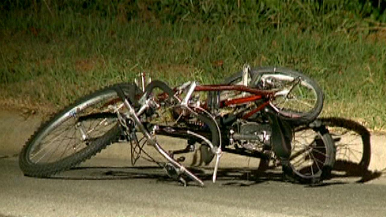 Authorities in Chapel Hill are searching for the driver that collided with two bicyclists on 15-501 at Wave Road.