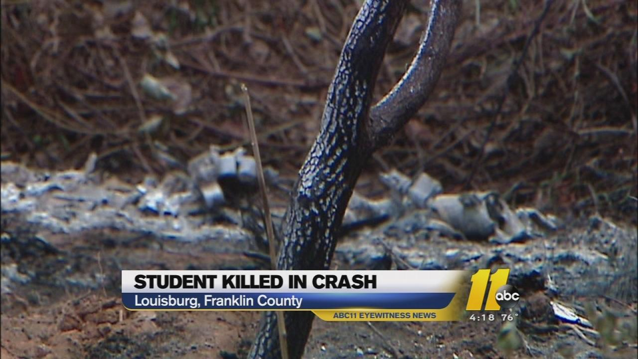 Louisburg High senior killed in crash
