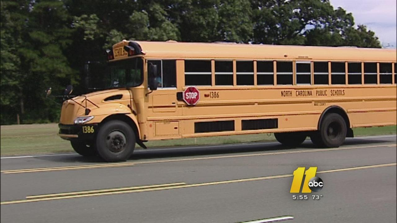 Wake County school bus driving