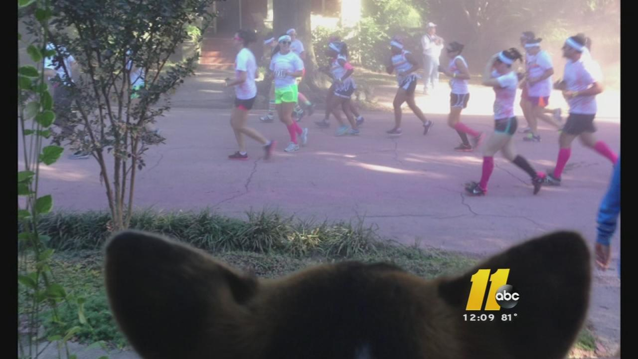 Some residents of historic Oakwood in downtown Raleigh say they are annoyed by the noise and mess left last weekends Color Run.