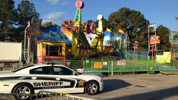 Dramatic 911 calls released from fair accident
