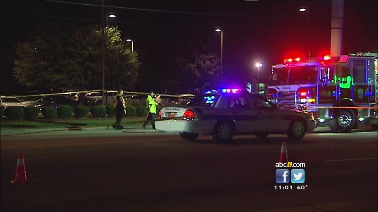 Fayetteville fatal pedestriant accident on Cedar Creek