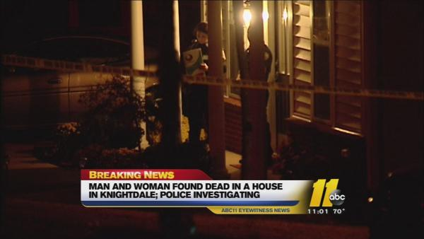 Two dead in Knightdale home
