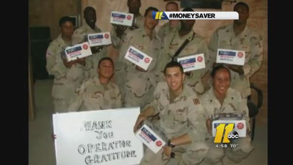Money Saver: Operation Gratitude