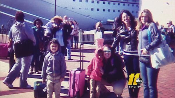 Local family kept off cruise