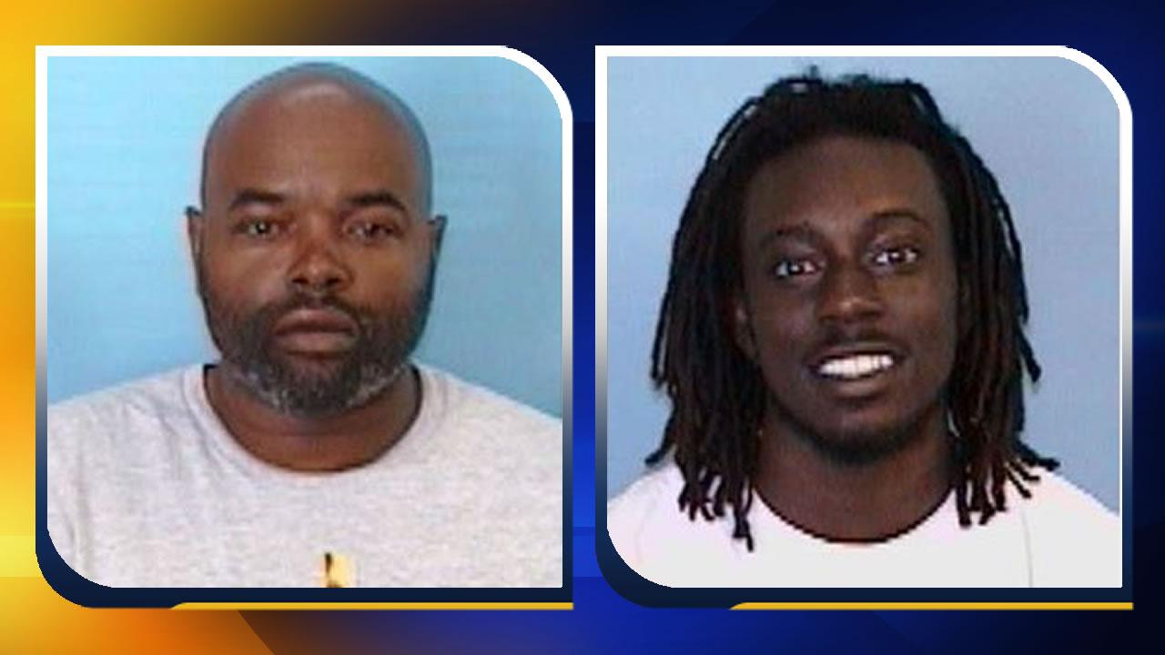 34-year-old Lawrence Gregory Hunter and 19-year-old Kweisi Saku McDougal Garland