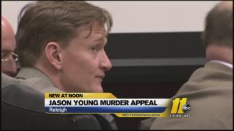 Jason Young, the man convicted of killing his wife Michellle Young, has begun his fight for a new trial in Wake County.