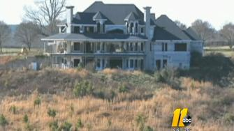 The million-dollar home once owned by former NASCAR driver Jeremy Mayfield is scheduled to be burned to the ground as part of a fire training exercise.