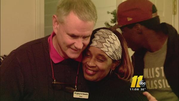 Raleigh family gets new home for holidays
