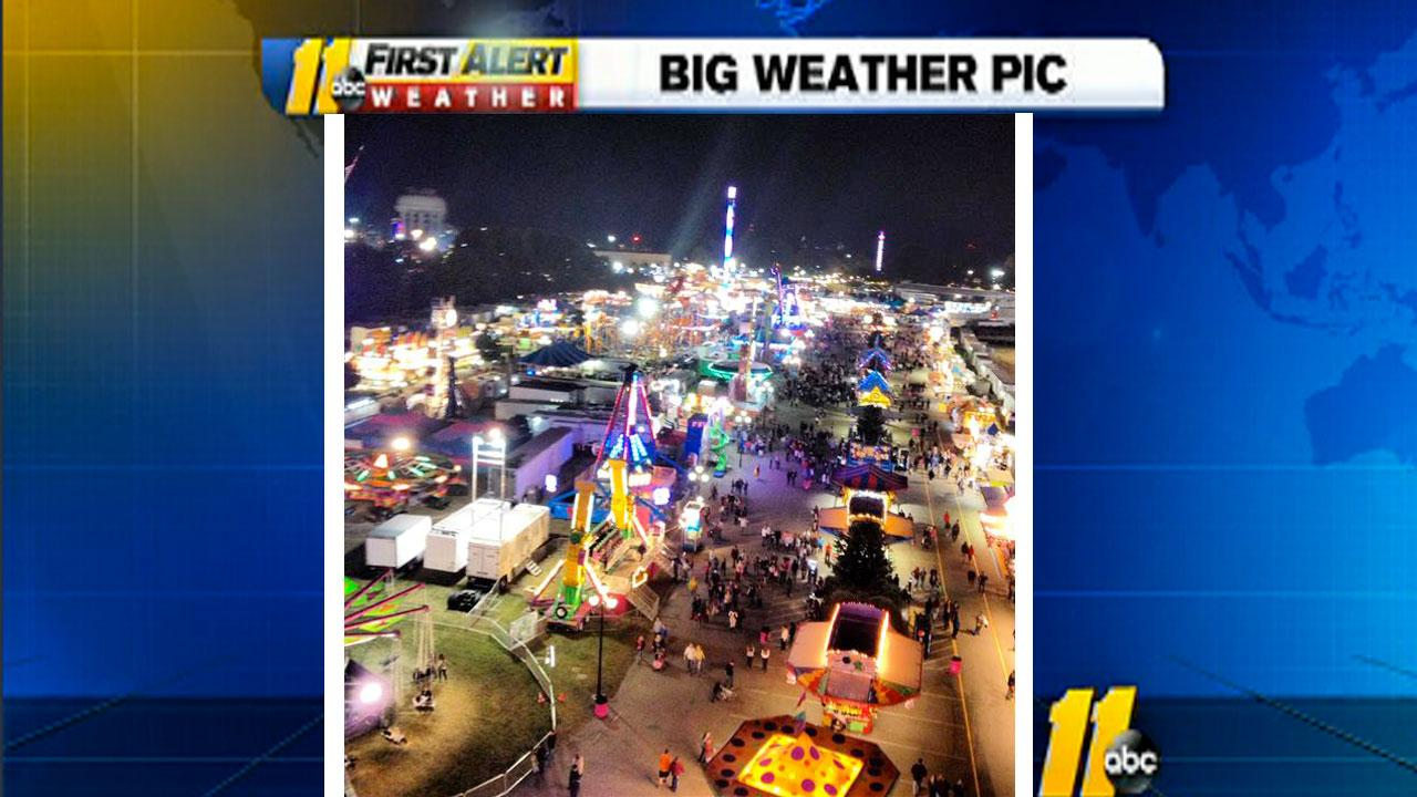 Cant beat the view from the top at the NC State Fair <span class=meta>(iWitness viewer photo)</span>