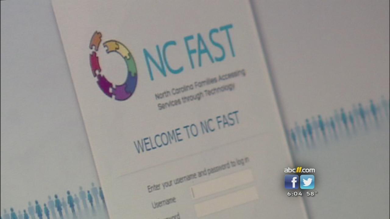 NCFAST computer screen