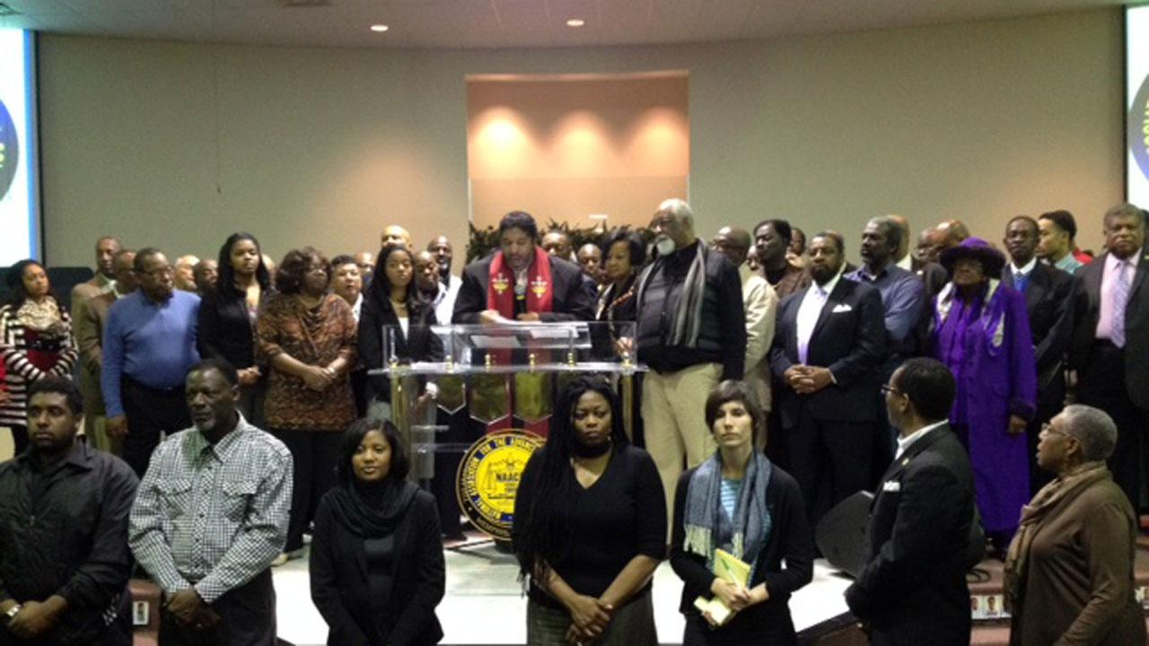The annual winter conference of North Carolinas NAACP brought hundreds of people to a Raleigh church Saturday morning.