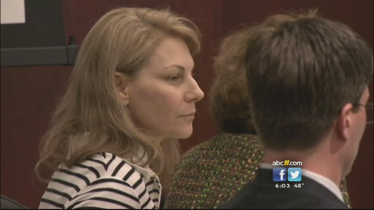 Amanda Hayes in court