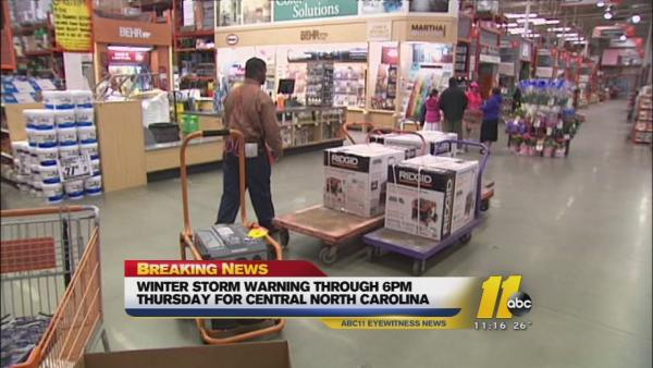 Power outage concerns lead to generator sales