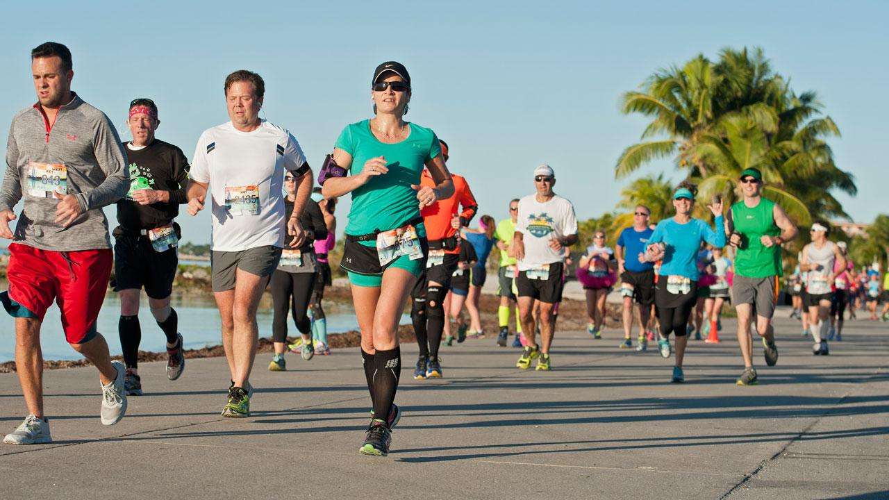 5Ks! Register now and burn off that winter weight or contribute to your co-workers cause.AP Photo/Florida Keys News Bureau, Bert Budde