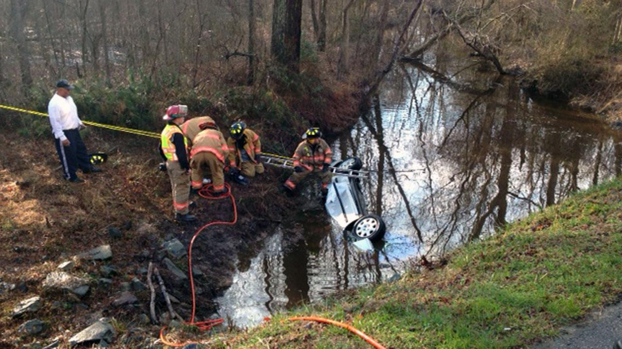 Teen killed after car flips into Johnston County creek