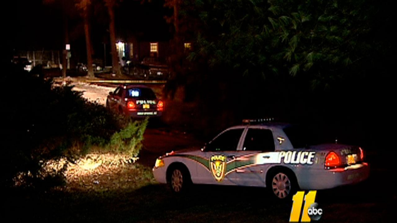 Two people were shot, one fatally, during a robbery in Holly Springs late Sunday night.