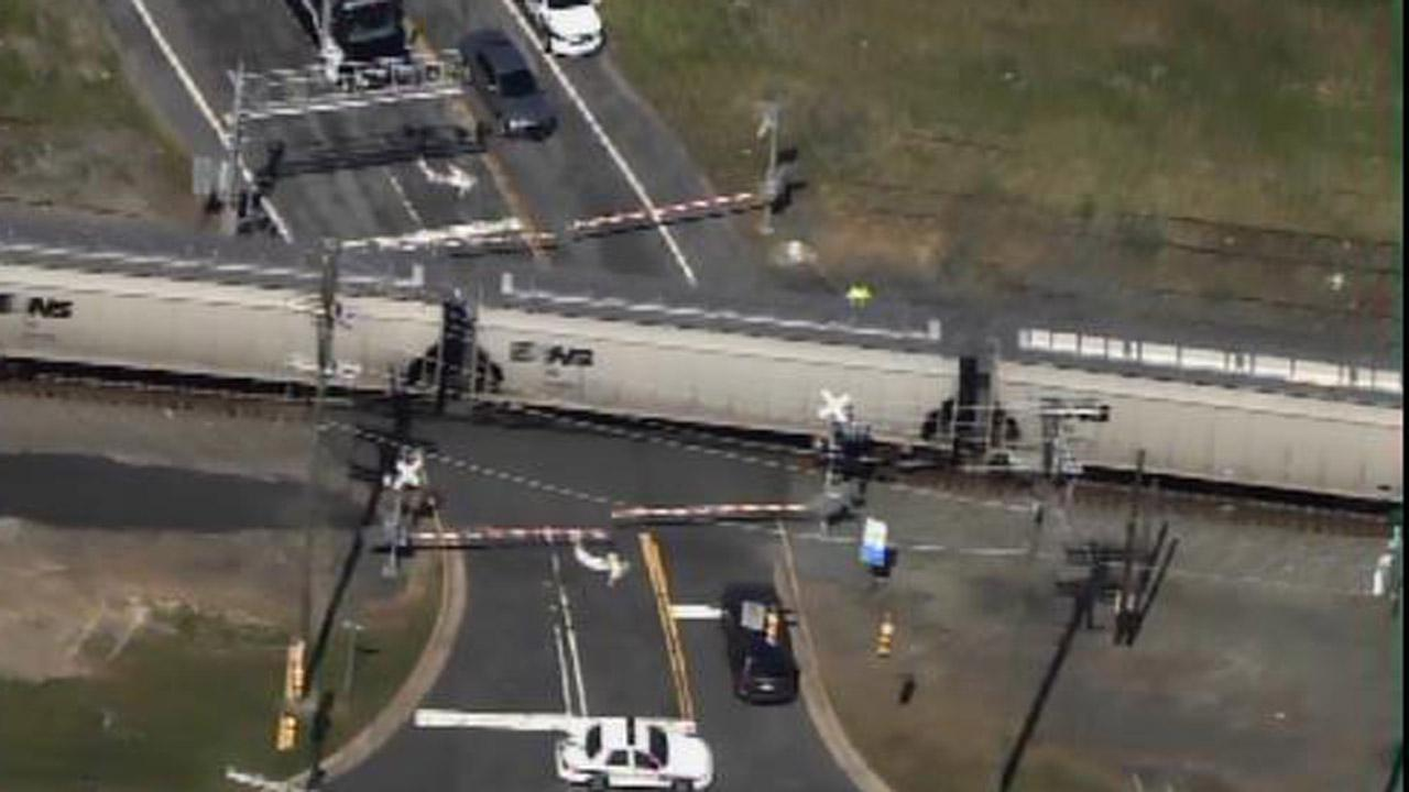 Pedestrian killed by train in Durham
