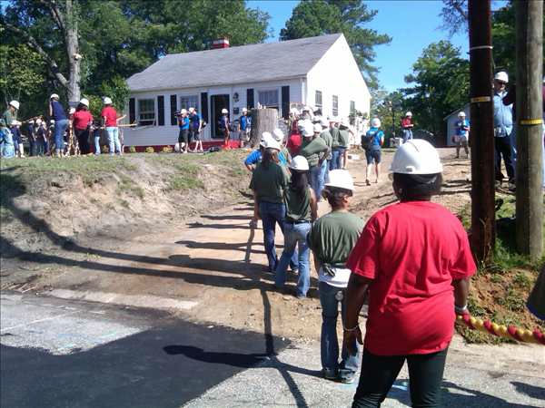 Extreme Makeover Home Edition demolition <span class=meta>(WTVD&#47;Jim Schumacher)</span>