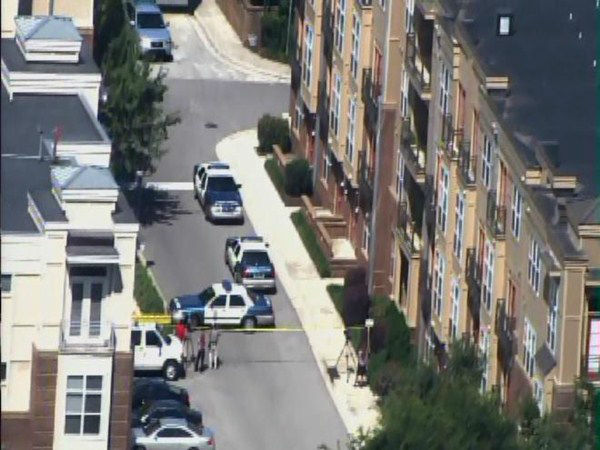 Police investigate after the discovery of a second body in the 1000 block of Wade Ave. <span class=meta>(WTVD Photo)</span>