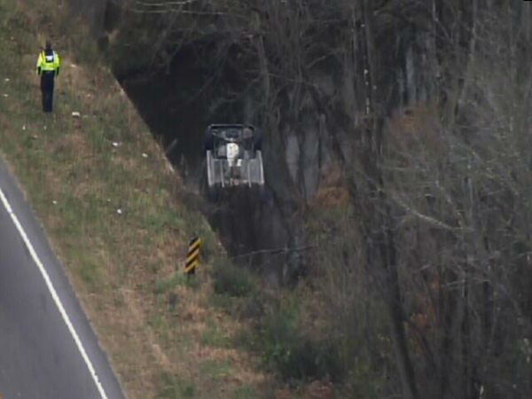"<div class=""meta ""><span class=""caption-text "">Emergency workers pulled an upside down car out of a creek in Durham Wednesday morning. They said it appeared the vehicle located near Camden Road and Midland Terrace had been there for some time. No one was found inside. (WTVD Photo)</span></div>"