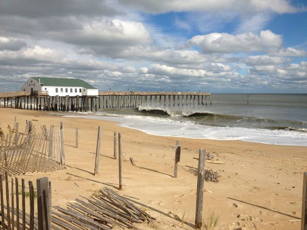 Kitty Hawk after Hurricane Sandy <span class=meta>(WTVD Photo&#47; Scott Dean)</span>