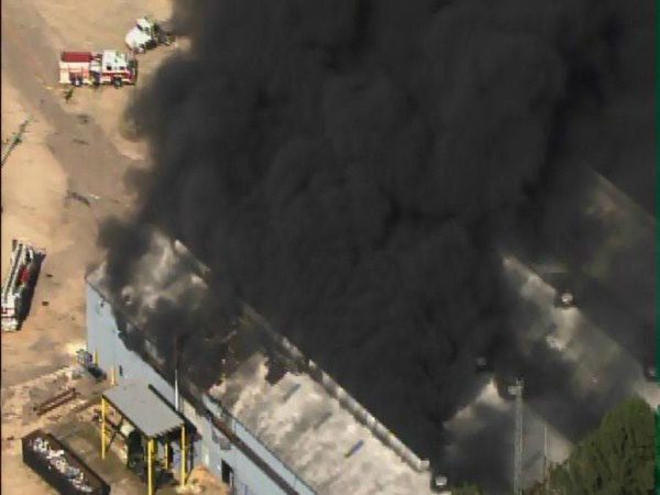 "<div class=""meta image-caption""><div class=""origin-logo origin-image ""><span></span></div><span class=""caption-text"">Fire burns at Contech Construction Products at Edwards Mill and Chapel Hill roads in Raleigh. (WTVD Photo)</span></div>"