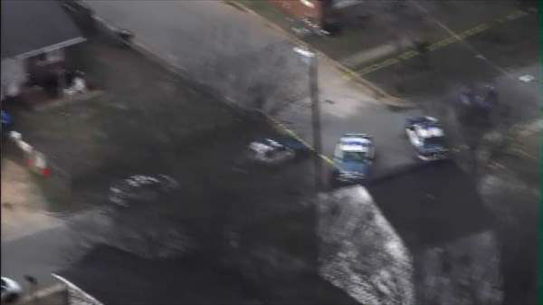 "<div class=""meta ""><span class=""caption-text "">Police and emergency workers responded to Tipton and Coleman streets for a reported shooting Thursday afternoon. (WTVD Photo)</span></div>"