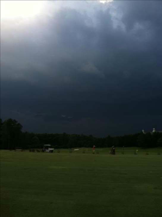 ABC11 viewers sent in photos from storms moving in across the viewing area Thursday evening. <span class=meta>(WTVD Photo&#47; ABC11 UReport Photos)</span>