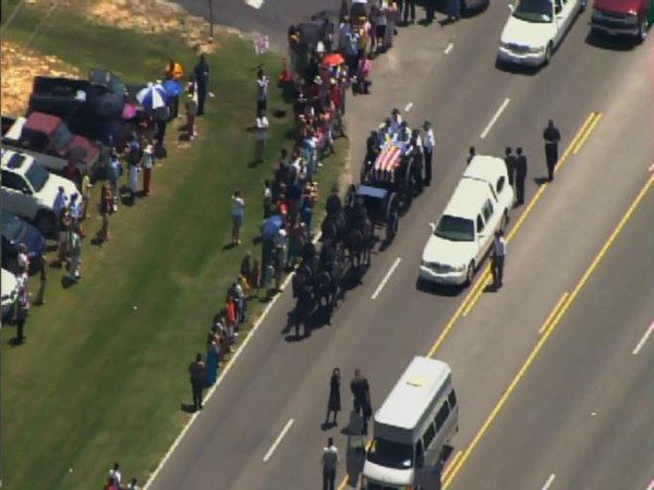 "<div class=""meta image-caption""><div class=""origin-logo origin-image ""><span></span></div><span class=""caption-text"">Officer Jeremiah Goodson was laid to rest with full honors in Lumberton. (WTVD Photo)</span></div>"