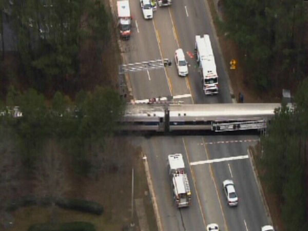 "<div class=""meta ""><span class=""caption-text "">One person was killed when an Amtrak train collided with a car in Cary. (WTVD Photo)</span></div>"