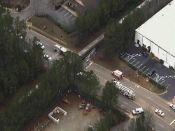 One person was killed when an Amtrak train collided with a car in Cary. <span class=meta>(WTVD Photo)</span>