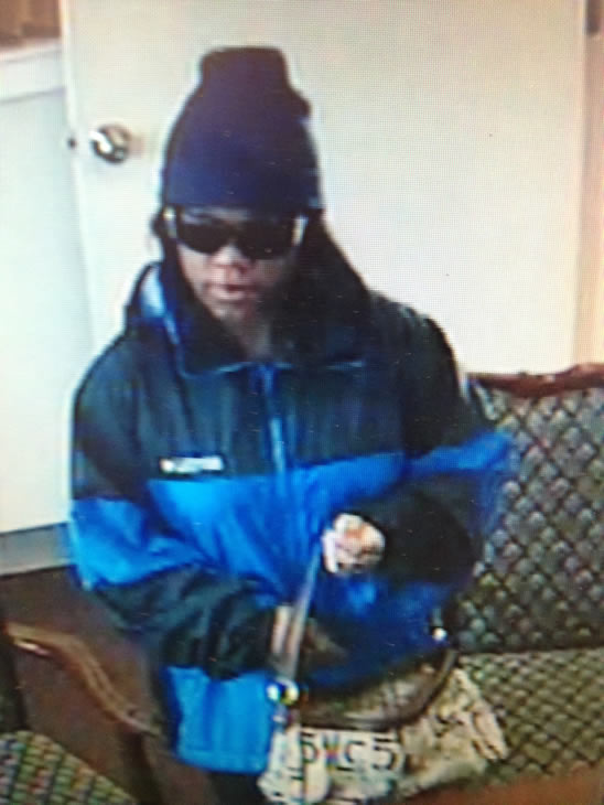 The Fayetteville Police Department says this woman robbed the First Citizens Bank on Broadfoot Avenue Monday morning just before 10 a.m. Anyone with information is asked to call detectives at &#40;910&#41; 433-1856 or Crimestoppers at &#40;910&#41; 483-TIPS &#40;8477&#41;.&#160; Crimestoppers information can also be submitted by visiting http:&#47;&#47;www.fay-nccrimestoppers.org&#47;send_a_tip.aspx and completing the anonymous online tip sheet. <span class=meta>(Fayetteville Police Photo)</span>