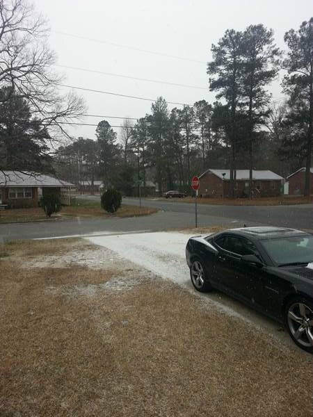 "<div class=""meta ""><span class=""caption-text "">Snow and sleet around the Triangle. (WTVD Photo/ Viewer submitted image via uReport)</span></div>"