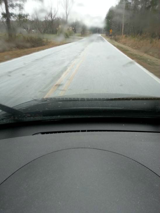 Snow and sleet around the Triangle. <span class=meta>(WTVD Photo&#47; Viewer submitted image via uReport)</span>