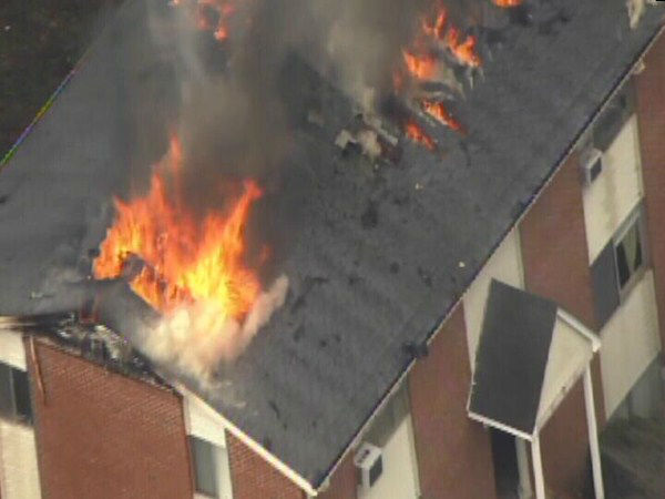 "<div class=""meta ""><span class=""caption-text "">Flames heavily damaged a Chapel Hill apartment complex Monday. (WTVD Photo)</span></div>"