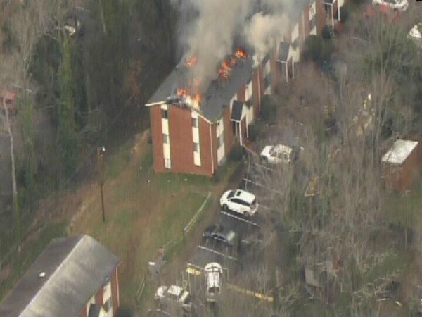 "<div class=""meta image-caption""><div class=""origin-logo origin-image ""><span></span></div><span class=""caption-text"">Flames heavily damaged a Chapel Hill apartment complex Monday. (WTVD Photo)</span></div>"