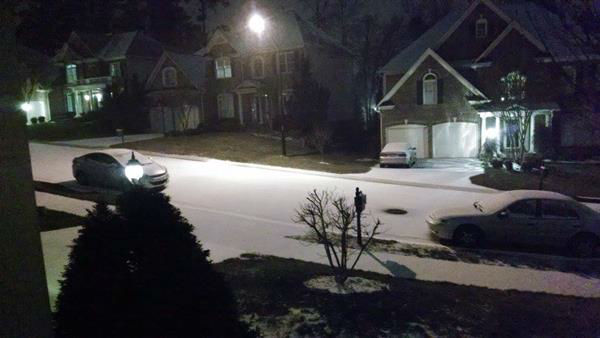 Snow around North Carolina <span class=meta>(WTVD Photo&#47; ABC11 viewer submitted image.)</span>