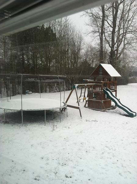 Snow around North Carolina. <span class=meta>(WTVD Photo&#47; ABC11 viewer submitted image.)</span>