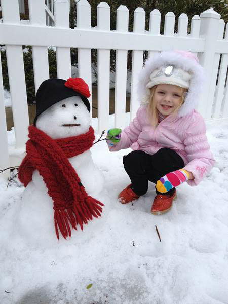 Snow in North Carolina. <span class=meta>(WTVD Photo&#47; ABC11 viewer submitted image.)</span>