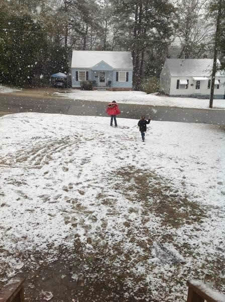 "<div class=""meta image-caption""><div class=""origin-logo origin-image ""><span></span></div><span class=""caption-text"">Snow in central North Carolina February 16. (WTVD Photo/ Viewer submitted image via uReport)</span></div>"