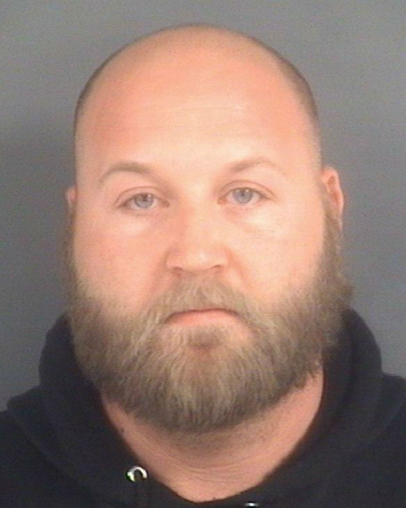 "<div class=""meta ""><span class=""caption-text "">Justin Brent Freeman, 30, of Hope Mills. (WTVD Photo/ Image courtesy Cumberland County Sheriff's Office)</span></div>"
