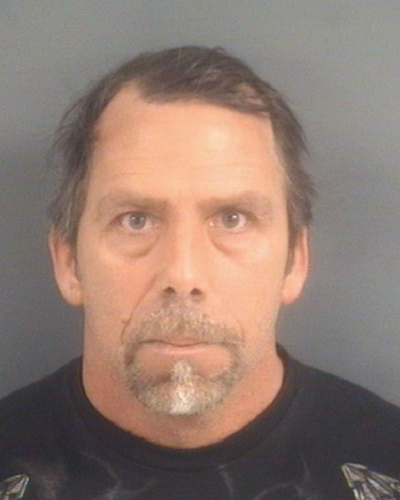 Richard Preston Lane, 45, of Hope Mills <span class=meta>(WTVD Photo&#47; Image courtesy Cumberland County Sheriff&#39;s Office)</span>