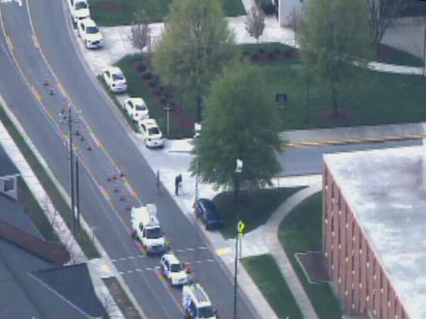 "<div class=""meta image-caption""><div class=""origin-logo origin-image ""><span></span></div><span class=""caption-text"">Police search on the campus of North Carolina A&T Friday (WTVD Photo)</span></div>"