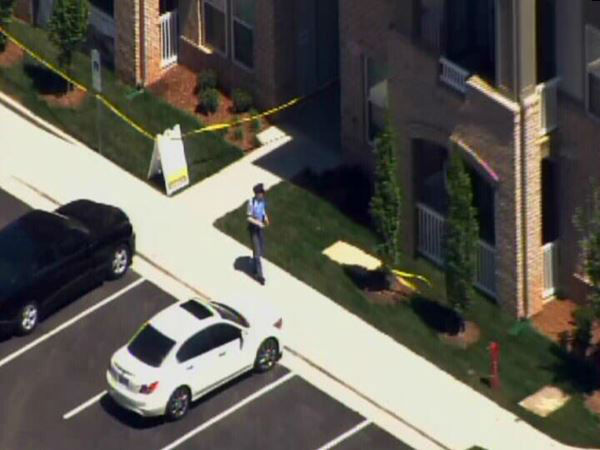 Police investigate in the 400 block of Allister Drive. <span class=meta>(WTVD Photo)</span>