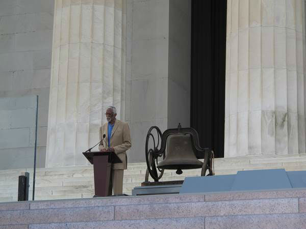 Photo from the 50th Anniverary of Dr. Martin Luther King&#39;s speech at the March on Washington courtesy of Congressman G. K. Butterfield. <span class=meta>(WTVD Photo)</span>